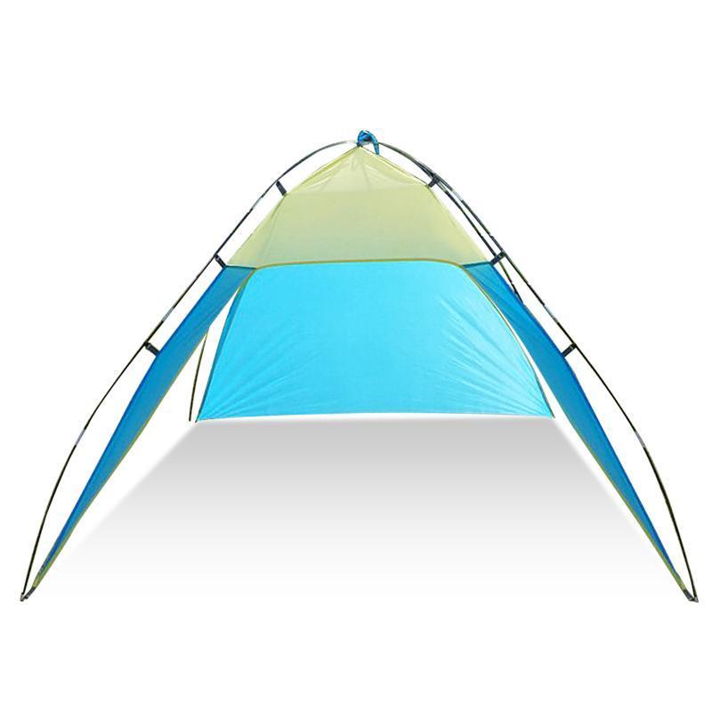 Tienda de playa Viaje al aire libre UV Protección solar Sun Shade Refugio para caminatas para acampar carpas de pesca y refugios