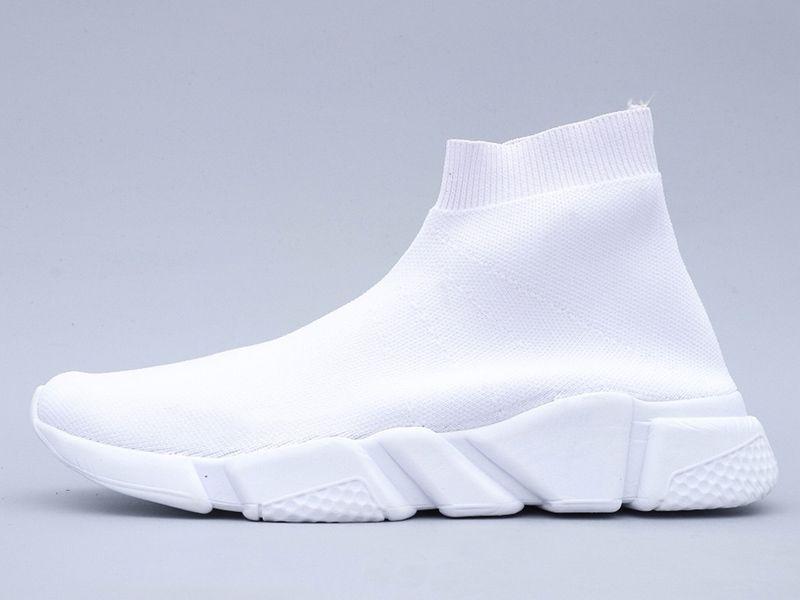 Top Fashion 2021 Ace Luxo Designer Sock Shoes Mulheres Mens Casuais Sapatos Preto Amarelo Triplo Branco Graffiti Vintage Meias Flat Botas Sapatilhas