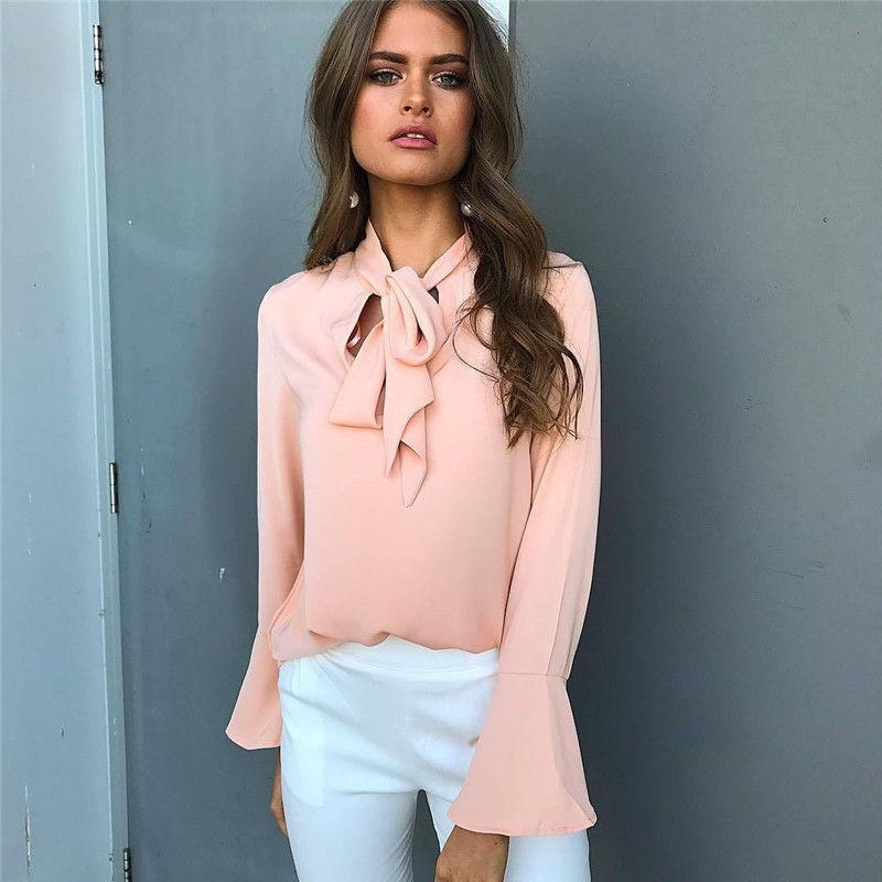 Frauen Bluse Mode 2021 Weibliche Frauen Top Hemd Damen Bow Street Coole Eleganz Partys Kleidung 90er Jahre Frauen Blusen Hemden