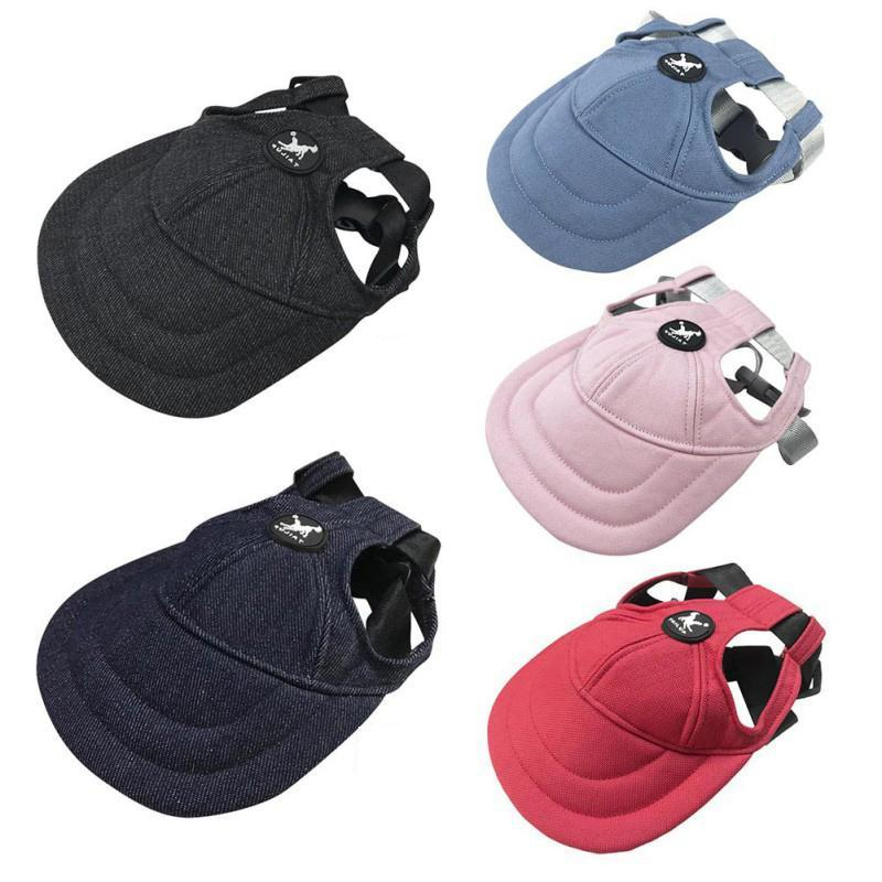 Dog Hat Baseball Cap Windproof Travel Sports Sun Hats For Puppy Medium Large Pet Outdoor Accessories Apparel