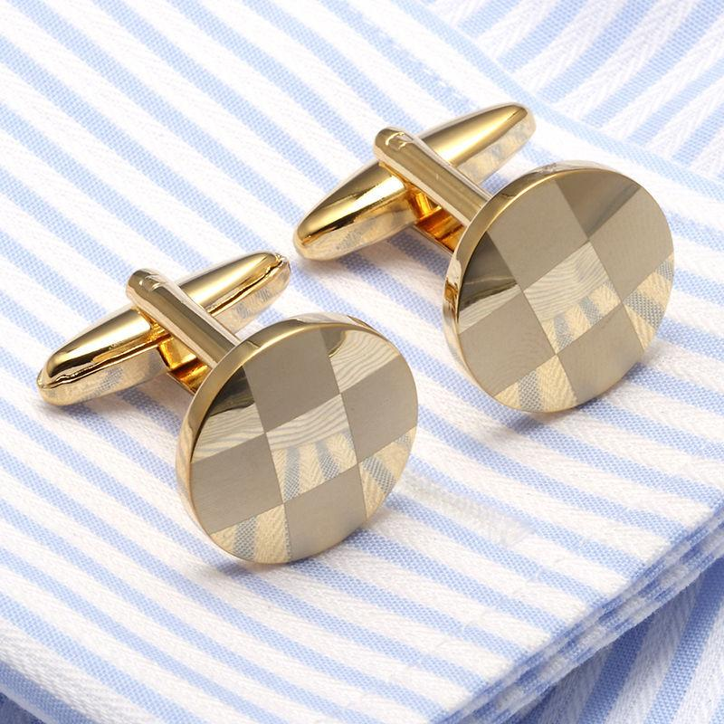 Запонки для манжеты для мужских модных запонокроликов дизайнер роскошные запонки классические свадьбы простые мужчины рукава рубашка высочайшего качества