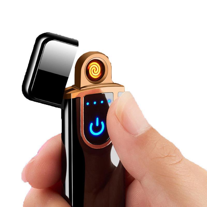 Accendisigari in metallo Accendishing Allentatore di sigarette USB Elettrodomestico