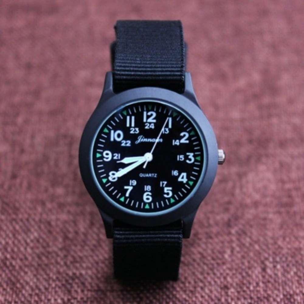 Watchs Shipping PhysiorJunior Junior High Electronic Boy Primaire Enfant School Cadeau Toile Quartz Imperméable horloge Montre