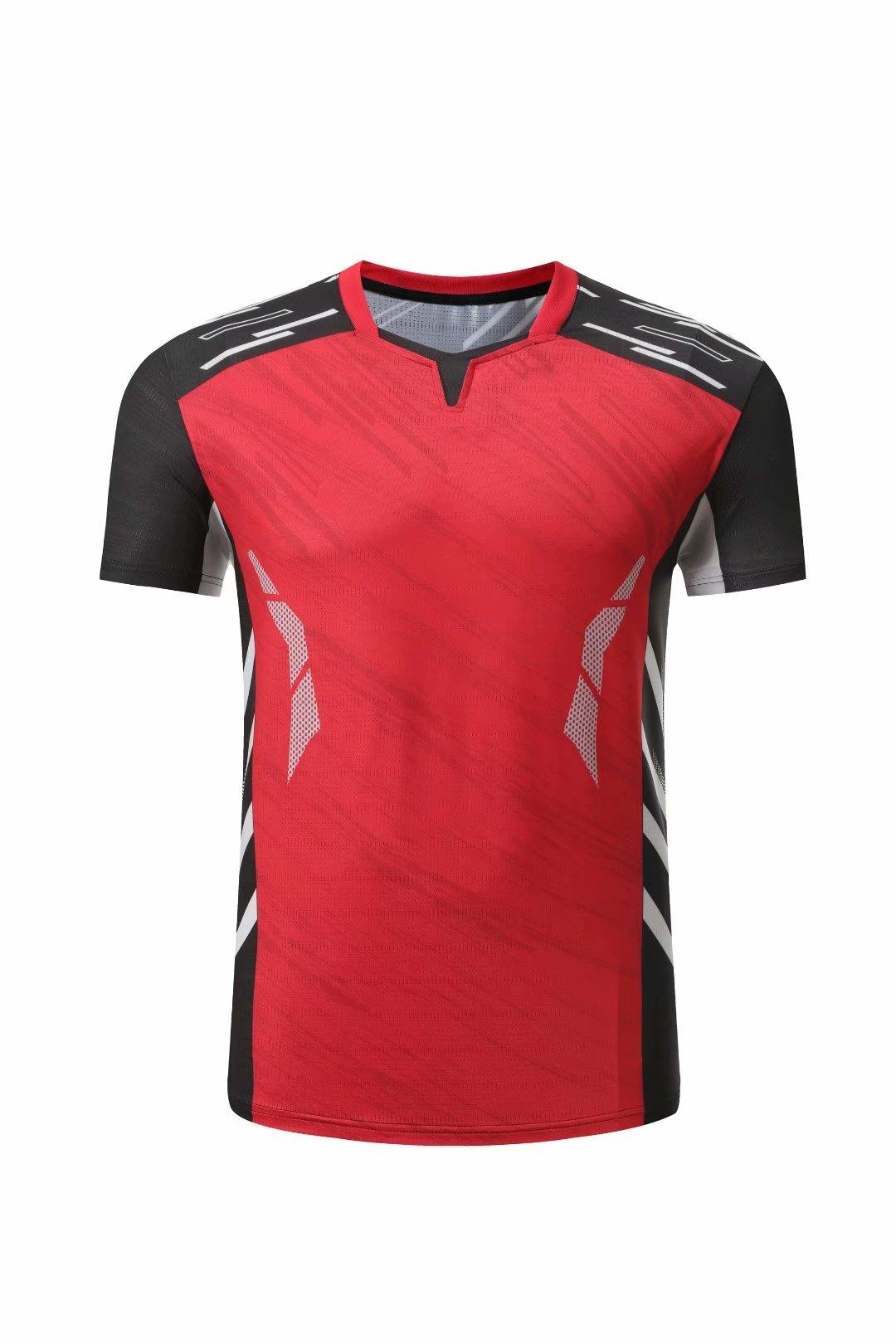 # 346 Tennis Shirt Blank Badminton Jersey Hommes Femmes Sportswear Former FullTlecock Running Sports Shirts Homme