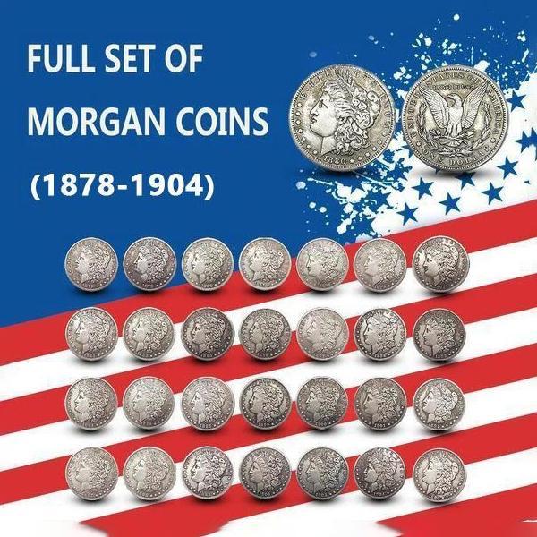 Морган доллар (1878-1904) Монеты искусства