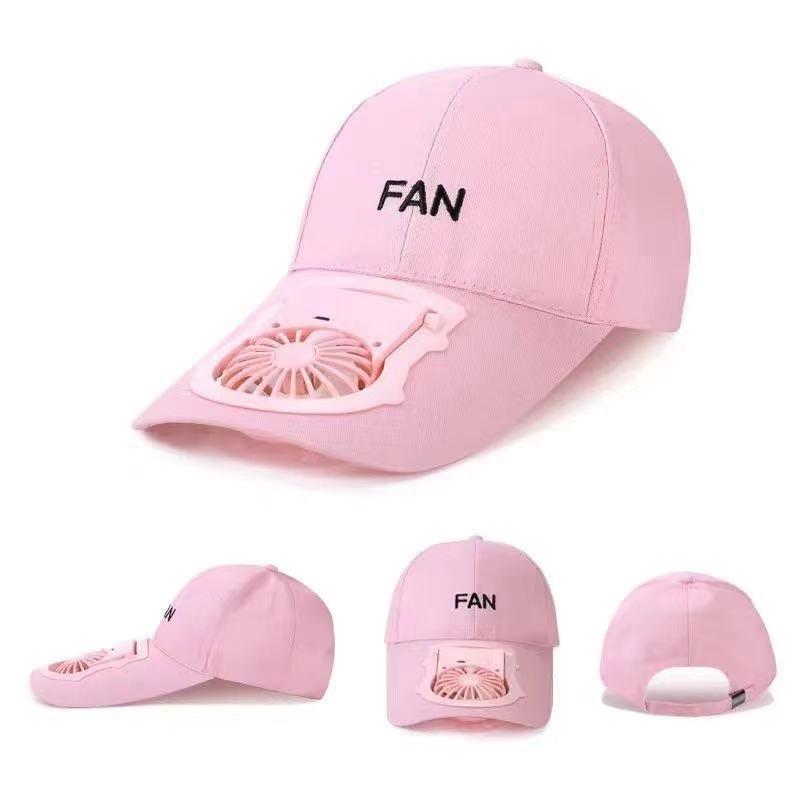 2021 Summer travel baseball cap Fan USB charging summers sun protection adult outdoor sports Hats