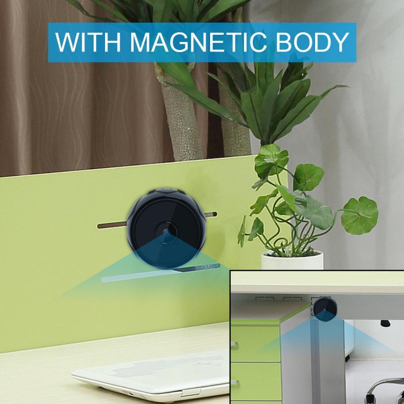 Smart Camera Wireless Wifi Night Vision Infrared Mini Human Detect Surveillance Tiny Cameras MD27 For Home Security Camcorders