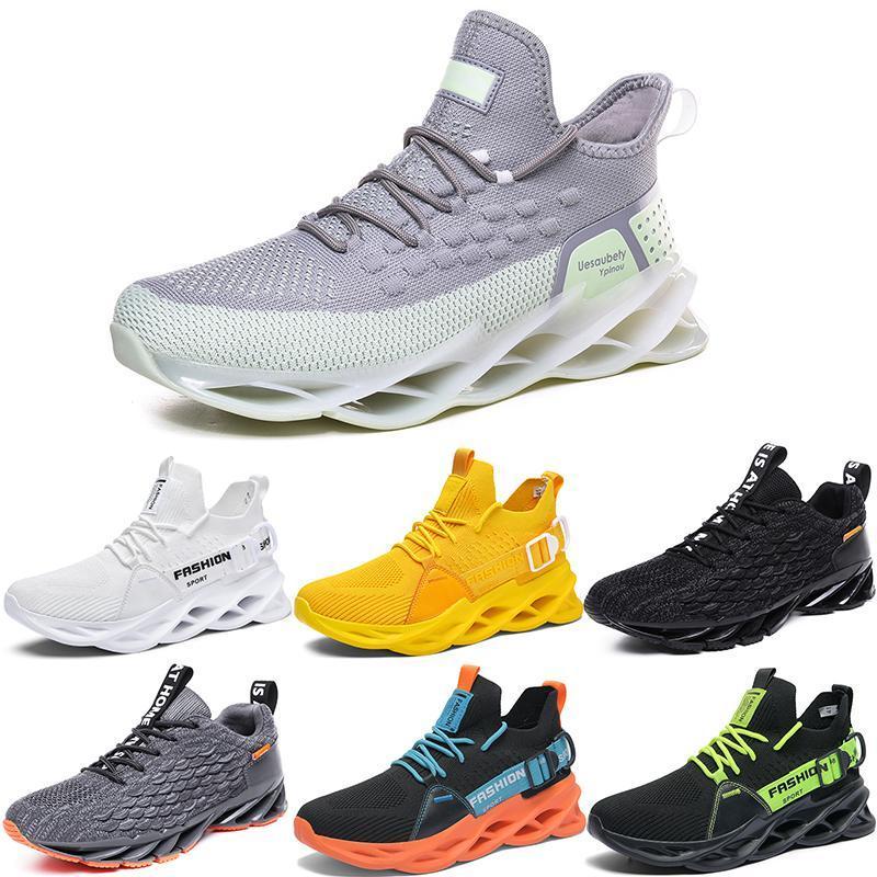 2021 الرجال الاحذية الثلاثي أسود أبيض أزياء رجالي المرأة العصرية المدربين العظماء تنفس عارضة الرياضة في الهواء الطلق أحذية رياضية Type18