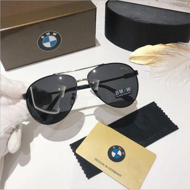 GM ile Yıldız BMW Güneş Gözlüğü Yeni Araba Polarize Gözlük 4 S Dükkan Hediye Güneşlik Açık Sürüş