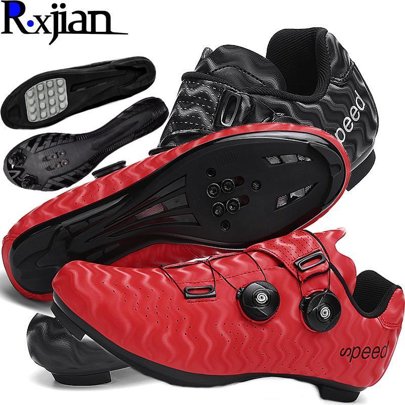 R, Xjian de Alta Qualidade Tridimensional Parent-Child Casal Road Mountain Biking Shoes sem bloqueio Bicicleta de Bloqueio de Bicicleta Calçado
