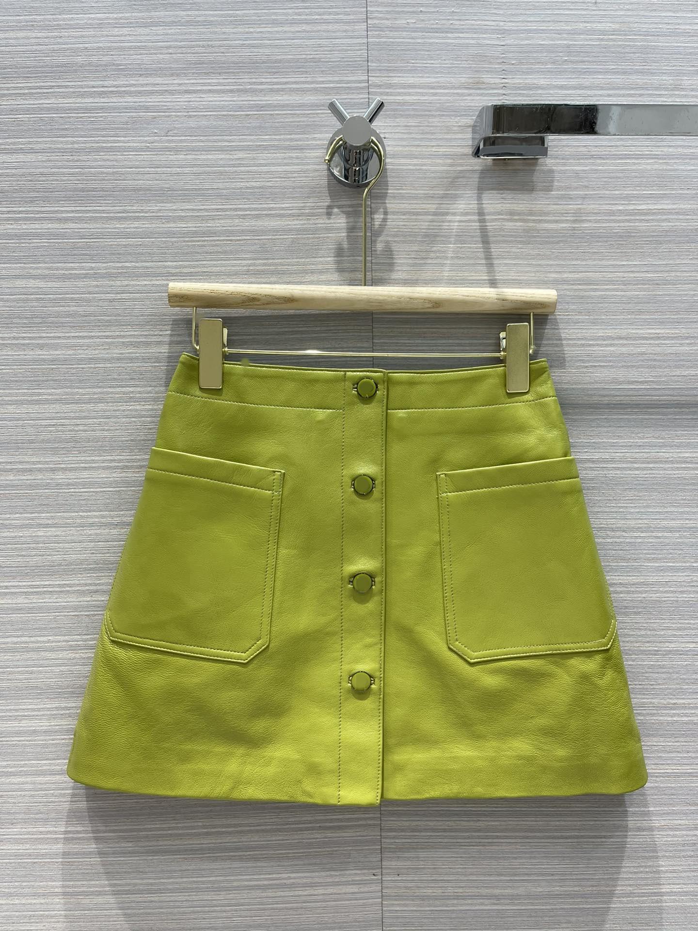 2021 İlkbahar Sonbahar Kış Milan Tasarımcı Etekler Muhteşem Bir Etekler Kadınlar Marka Aynı Stil Etekler 0602-8