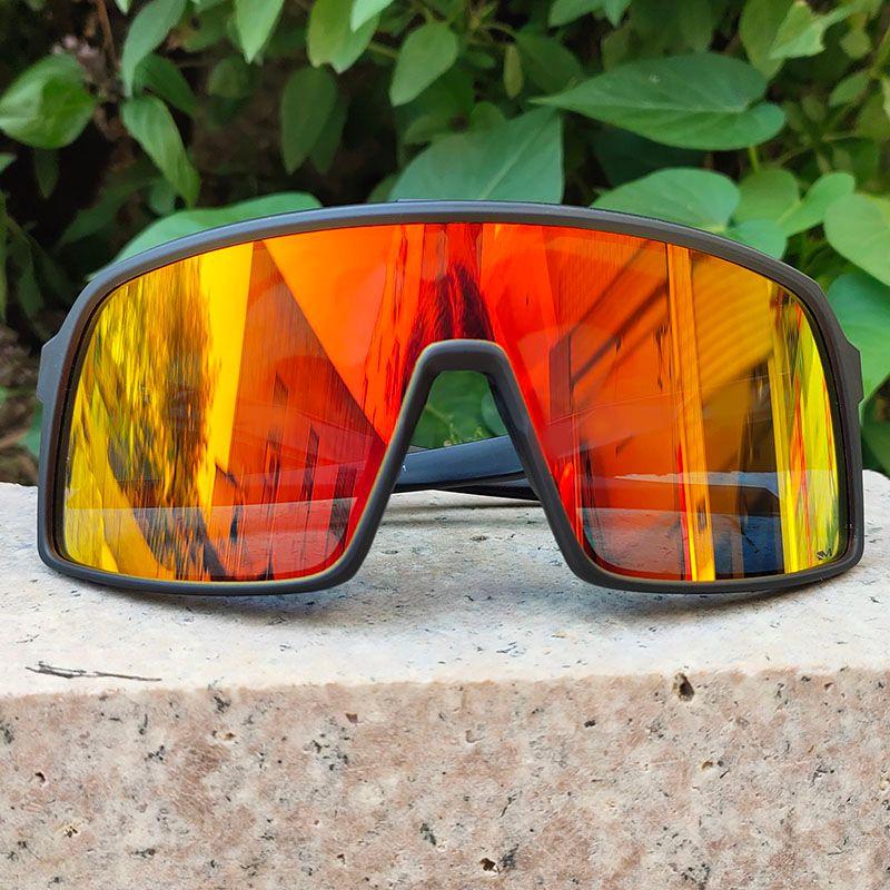 브랜드 스타일 사이클링 선글라스 자전거 자전거 안경 적합 도로 산 태양 안경 3 개 렌즈 패션 야외 스포츠 고글 9406 블랙 편광 UV400