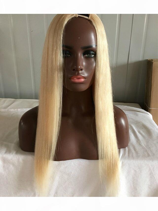 # 613 أخف شقراء ش جزء الباروكات أفضل الصف 7a البرازيلي عذراء الشعر 130٪ الكثافة حريري مستقيم الشعر البشري مسار لمة للنساء البيض