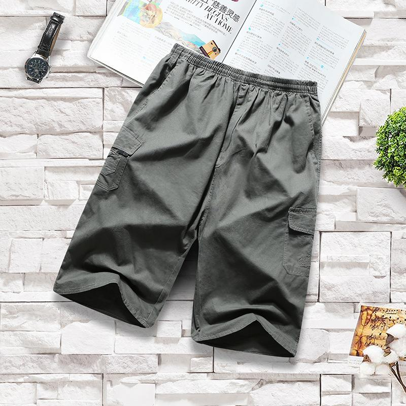 Herren Shortsme's Shorts Sommer Thin Herren Shorts / 5 Trend Lose Sports Casual Große Unterhose Mode Marke Arbeitshosen