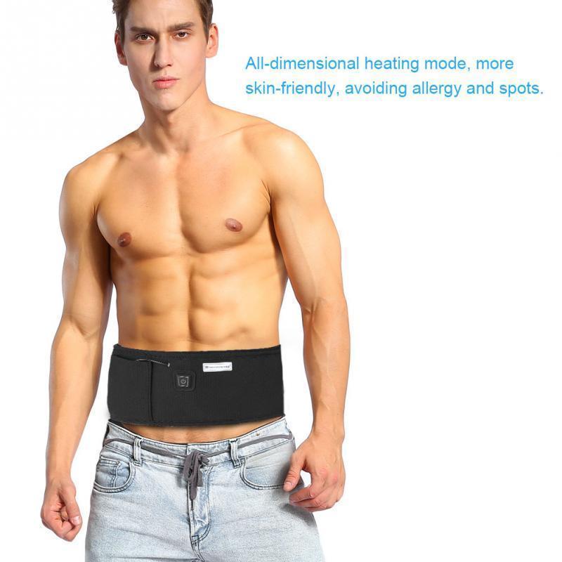Cinturón de calefacción de grasa infrarrojos de colores adelgazante Peso Perder vibración Herramientas de cuidado de la salud Masajes eléctricos
