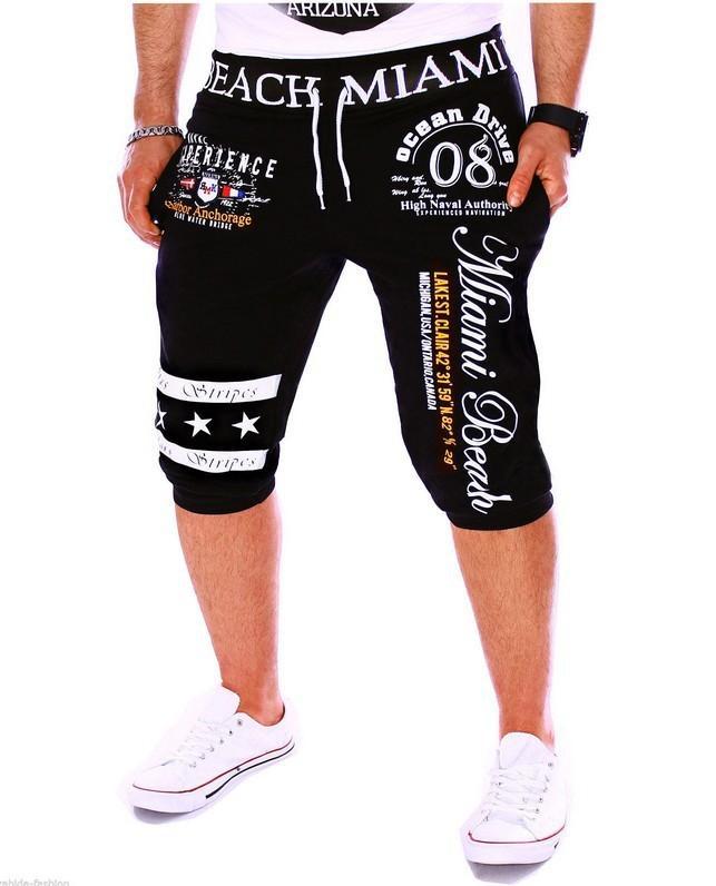 Suivi des pantalons de conception de conception d'impression numérique pour hommes