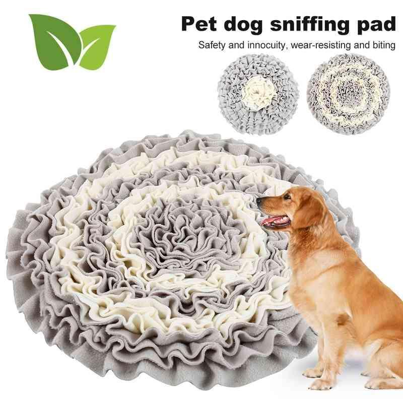 الكلب جولة استنشيق التدريب حصيرة قابل للغسل بطانية الحيوانات الأليفة الإجهاد التدريب تخفيف الأنف ماتس مختلط لون الكلب اللوازم 210401