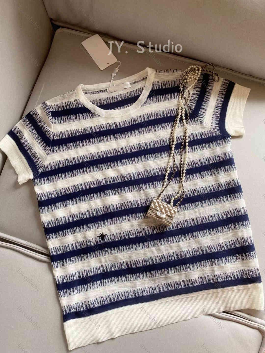 womens t shirt summer Womens Designer cotton high-end Tshirts Printed Fashion women T-shirt Knitted short sleeves