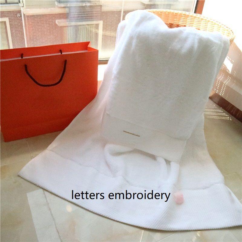 Буквы Жаккардовые полотенце набор HightCotton лицом для лица Главная Отель Ванная комната Пляж должен Вантиул для взрослых Дети Нежный подарок