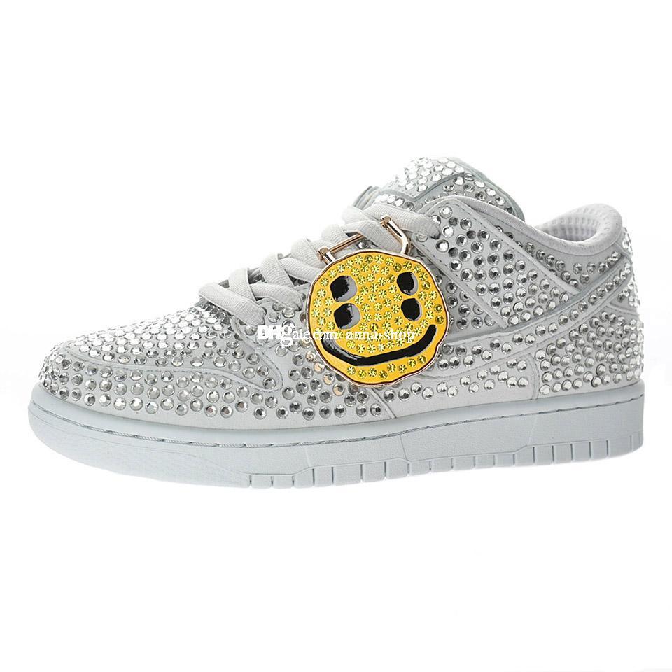CPFM Dunks Scarpa sportiva per uomo Cactus Sneakers Mens Crystals Skates Skates Scarpe Diamanti da donna Diamanti Diamanti Sneaker Woemen Maket Skate Chaussures Skateboard CZ2670-001