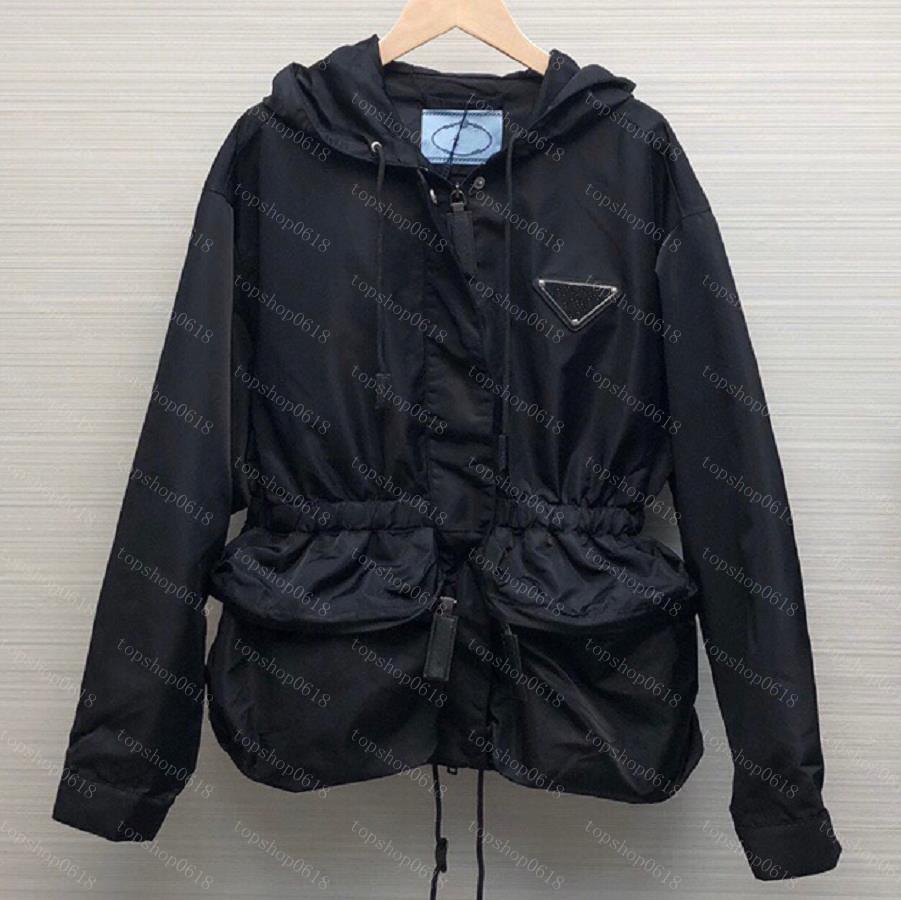 2021 diseñador para mujer chaqueta para mujer abrigo de otoño viento viento de moda chaquetas con capucha deportes rompevientos casual con cremallera de mujer