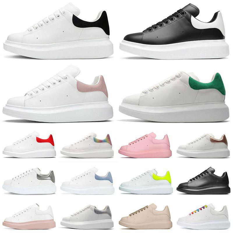 Neueste Männer Frauen Platform Sneakers Designer Schuhe Triple Black White Reflektive Traum blau Rosa Silber Rose Gold Herren Casual Shoe