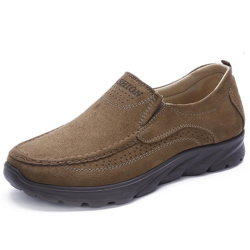 Scarpe da uomo Artisanal Retro-Recreational Casual Zapatos Scarpe maschili YUJ89 TMOJ