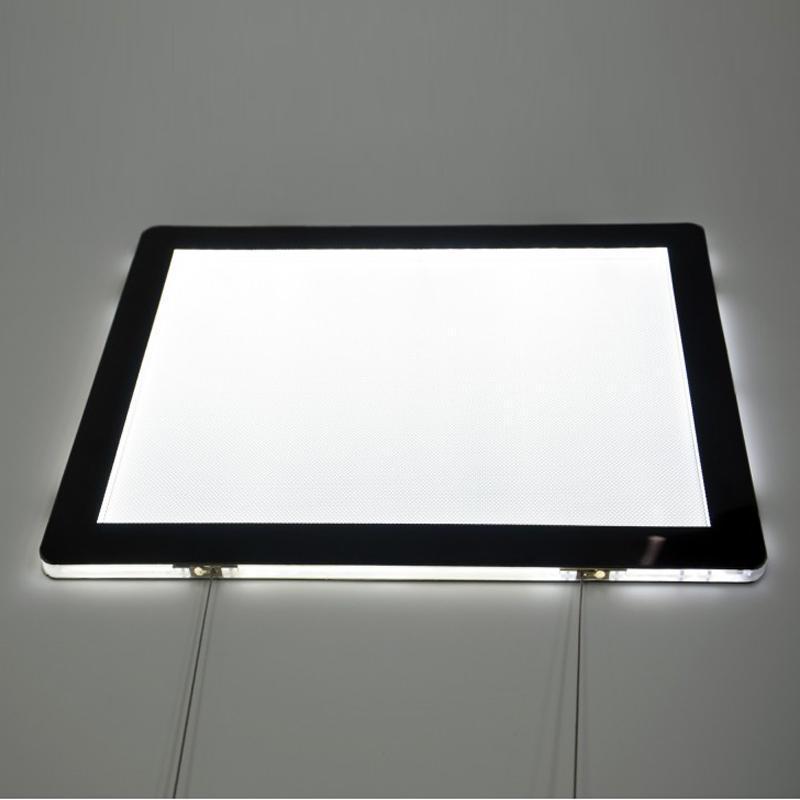 Real Estate Agent LED Window Advertising Sign Displays, doppelte Seite A4 - sowohl horizontale als auch Landschaftsorientierung (4 / Spalte) Panelscheinwerfer