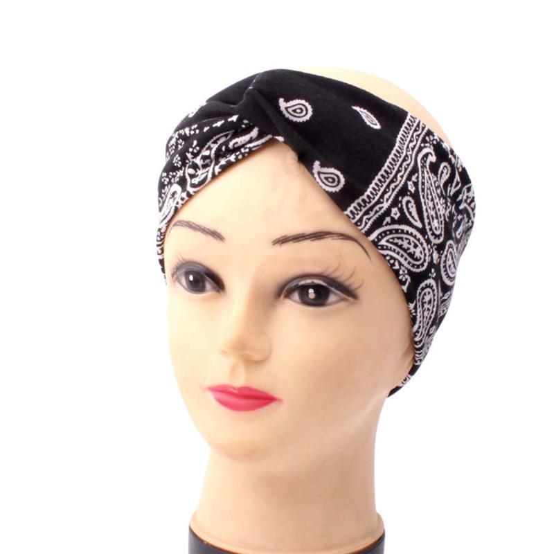 여성 패션 Bandana 스카프 스퀘어 헤드 Bandanas Para Cuello 여성용 모자 y Diademas 30J16 땀띠