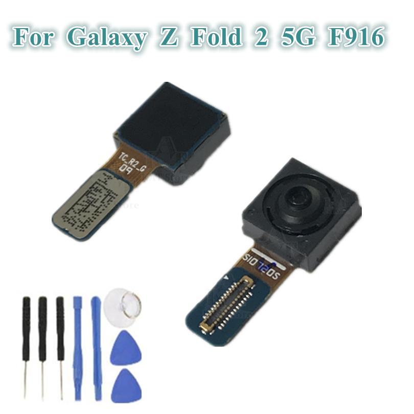1 adet Orijinal Ön Küçük Kamera Modülü Flex Kabloları Değiştirme Samsung Galaxy Z Katlama 2 5G F916 F9160 W21 Bakan Kablo