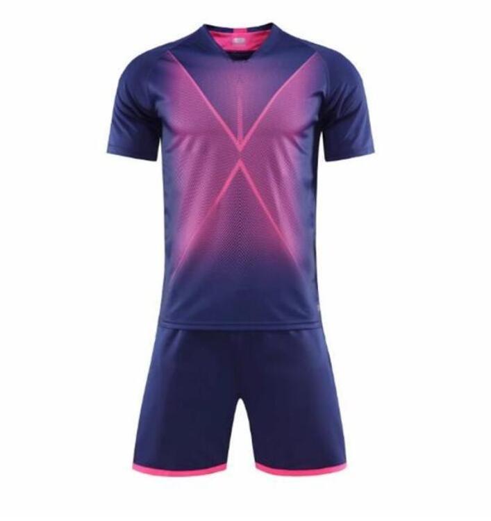 8A Adult kits Soccer Jerseys Custom blank football kit Training Running Wears Short sleeve sport With Shorts