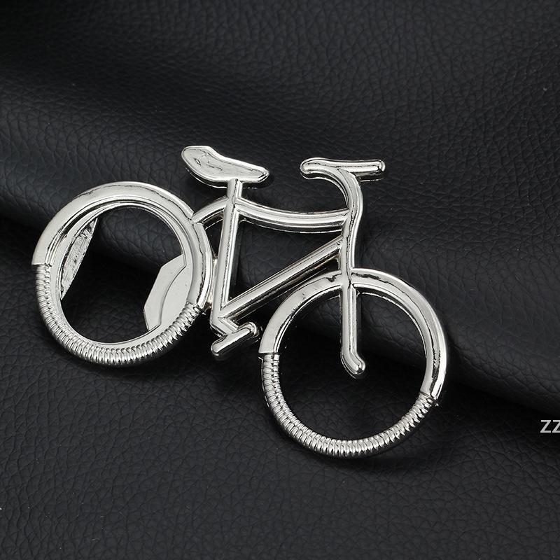Vintage Metal Bisiklet Şişe Açacağı Anahtarlık Şarap Bira Şişeleri Açıcılar Anahtarlık Düğün Favor Parti Hediye Hediye HWF7603