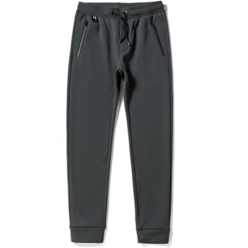 Hombre invierno nuevo casual pantalones cálidos terciopelo grueso pantalones casuales más tamaño masculino grueso suave sólido ropa de calle 5xl