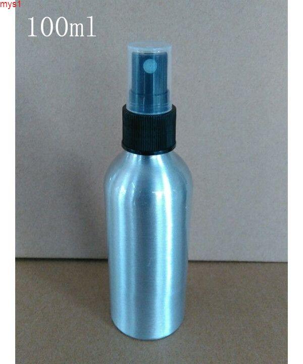100ml de aluminio rociado botellas lucifugal botellas de metal negro blanco claro pulverizador lidhigh qty