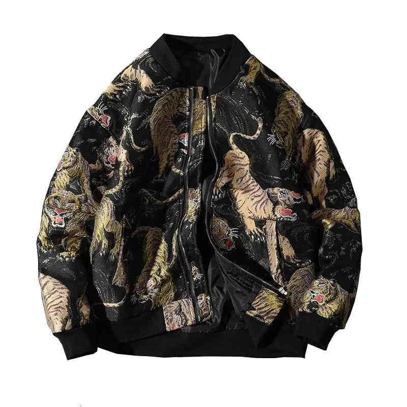 chaquetas Supzom Llegada Cremallera Zipper Logros Animal Costero Casual Chaqueta Hombres Uniforme Masculino Algodón Abrigo Marca Ropa