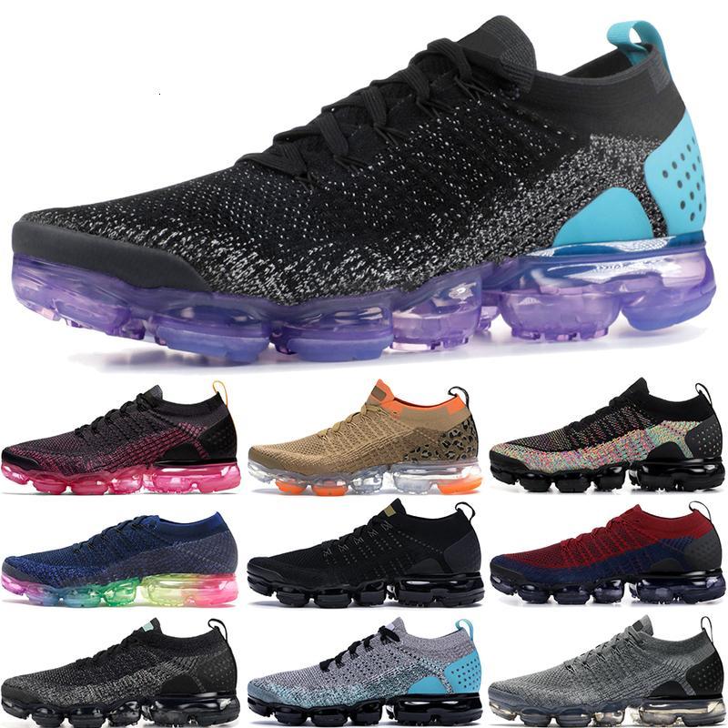 2.0 Heißer Regenbogenverkaufsflieger Seien Sie 1,0 Richtige Laufschuhe Männer Frauen Tiger Schwarz Multi Color GunsMoke Blue Orbit Designer Schuhe