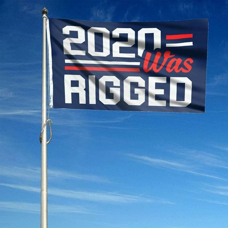 Billigaste Trumpval 2024 Trump Håll flaggan 90 * 150cm Amerika Hängande Stora Banderoller 3x5ft 2020 var rigged inte skyll mig Jag röstade för Trump