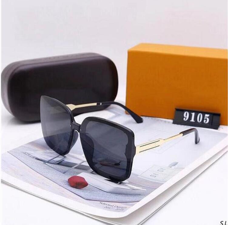 2021 Designer Luxus-Sonnenbrille stilvoller Mode Hohe Qualität polarisiert für Mens Womens UV400.A44