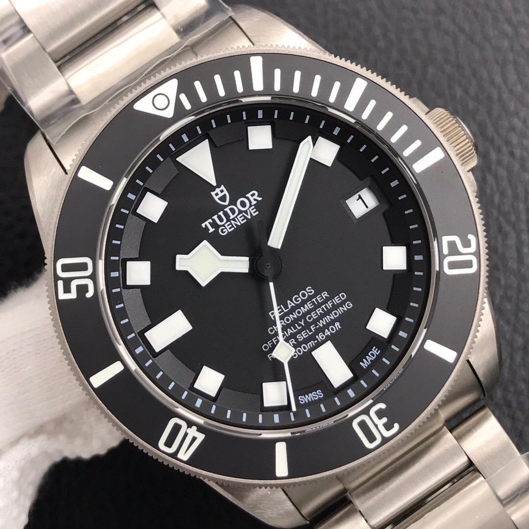2002 Marca famosa de alta qualidadeTudor assista banda de aço inoxidável auto eólicos auto homens relógios com caixa de presente 2 #
