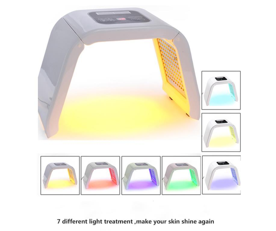 High Quality 7 Color LED PDT Light Care Beauty Machine Facial SPA Therapy Skin Rejuvenation Acne Remove Anti-wrinkle j37