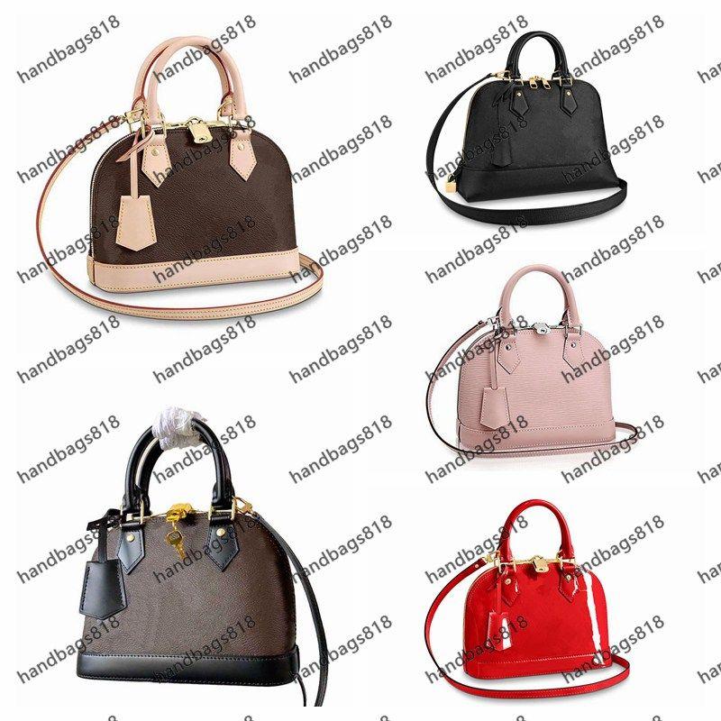 Umhängetasche 2021 Neueste Mode Taschen Frauen Schultertasche Klassische Art Frauen Multiple Color Shellbag mit Schlüsselschloss Damen Crossbody 23,5 cm und 32 cm fn
