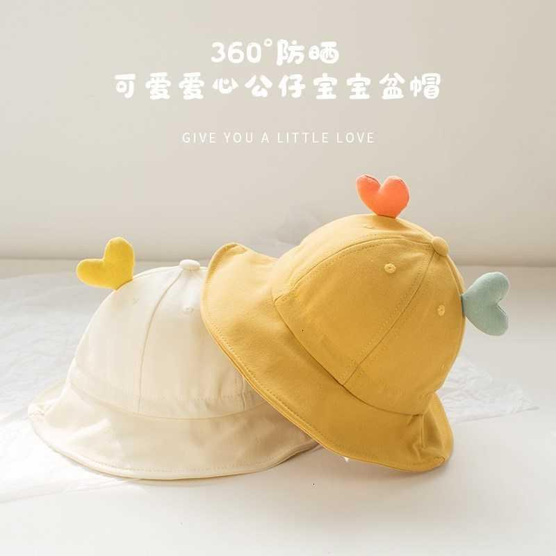 Hats Bucket Hat Children's Baby Spring Autumn Girl's Fisherman's From June to December{category}