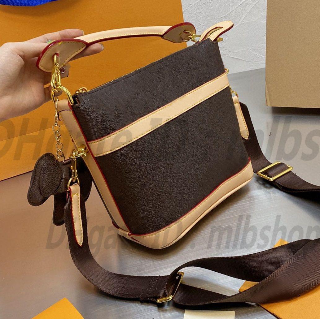 أزياء المرأة l luxurys حقيبة crossbody مصممي حقيبة يد السيدات حقائب الكتف محفظة أعلى جودة حقائب اليد في العصور الوسطى قلادة مقبض حقيبة 2021 الأكثر شعبية
