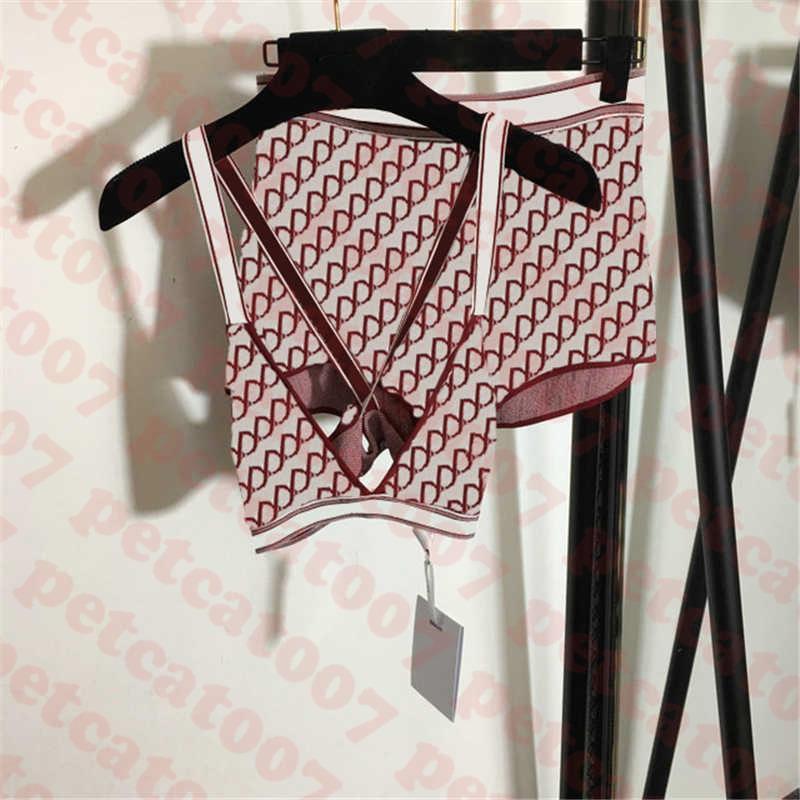 محبوك المرأة البيكينيون ملابس مجموعة النسيج الكامل إلكتروني مطبوعة النساء ملابس السباحة عالية الخصر السيدات المايوه