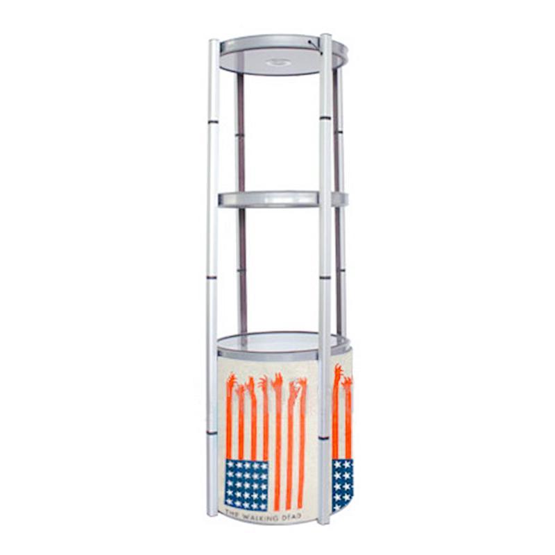 Contador de exposição da exposição de 4 camadas com estrutura da torção Top LED luz fácil