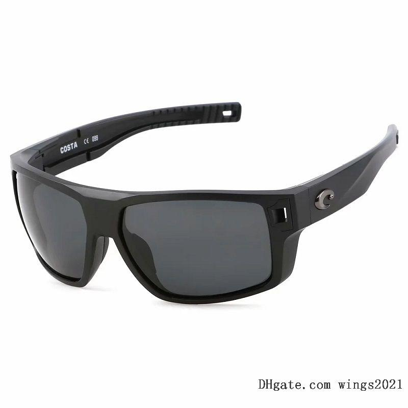 Klasik Kosta Güneş Gözlüğü Erkekler için 2021 Lüks Tasarımcılar Güneş Gözlükleri UV400 Yüksek Kaliteli Polarize PC Lens 580 P Renk Kaplamalı TR-90Sillicone Çerçeve - Model Diego