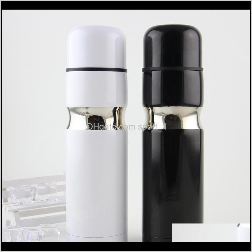 Water Bottles Drinkware Kitchen, Dining Bar Home & Garden Drop Delivery 2021 500Ml Stainless Steel Perfect Gift Thermal Cup Double Layer Vacu
