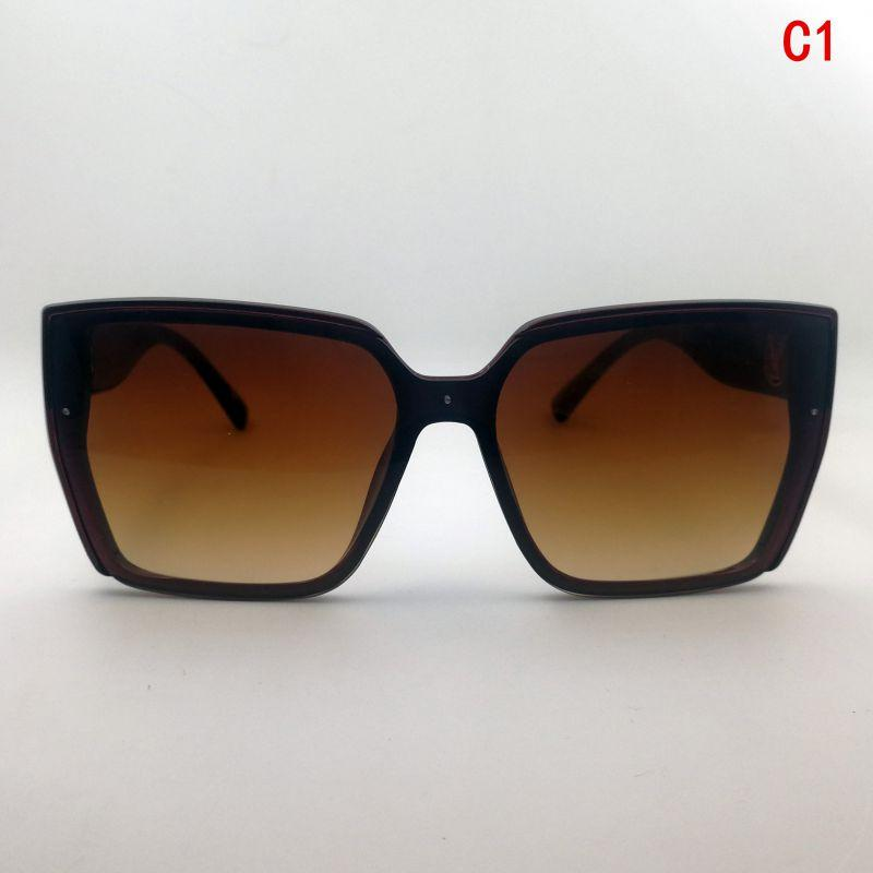 Woman sunglasses gafas Sonnenbrille Glasses sunglasses women lunettes de designer Woman grey Square Adumbral designer sunglasses oversized