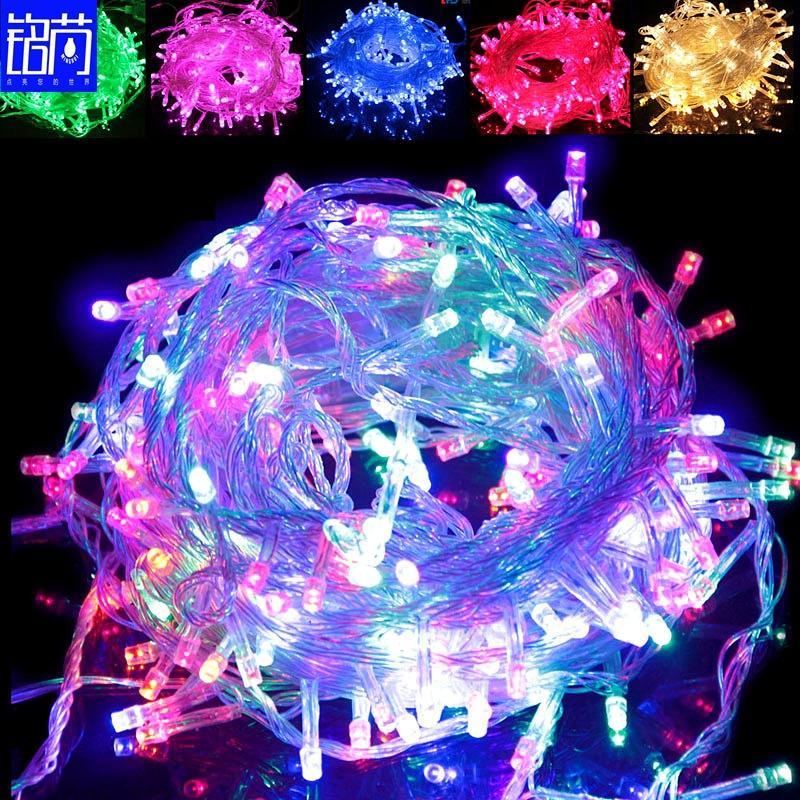 10M Christmas lights crazy selling 10M/PCS 100 strings Decoration Light 110V 220V For Party Wedding led Holiday lighting