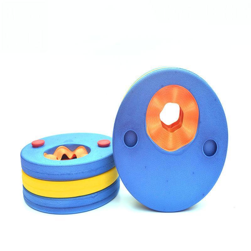 EVA Foam Swim discs Floating Arm Bands Kids baby Floating Sleeves Circles Rings Pools Swimming Training Tool CCF6376